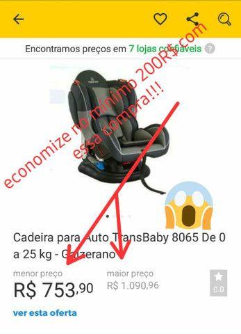 Cadeira para Auto Transbaby GALZERANO de 0 a 25 kg - Foto 6