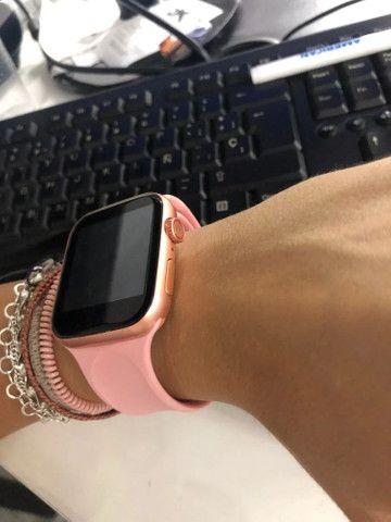 Relógio Smartwatch X7 Rose - Foto 3