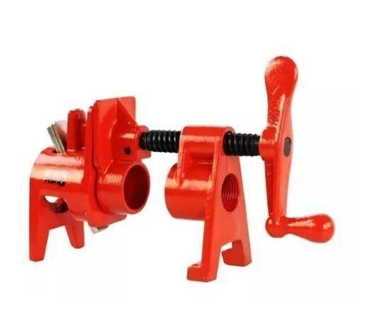 Grampo Sargento Pipe Clamp Tubular Para Tubo De 3/4