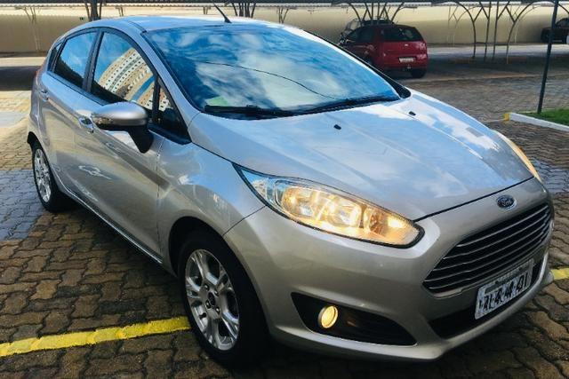 New Fiesta SE 1.6 Flex 2014/2014, Única Dona, Todo original, IPVA pago, Impecável - Foto 5