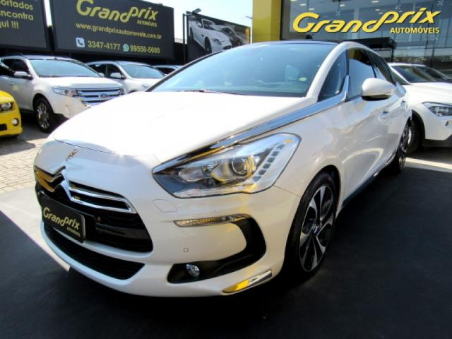 CITROËN DS5 2016 1.6 SO CHIC 16V 165CV TURBO INTERCOOLER GASOLINA 4P AUTOMÁTICO BRANCO  - Foto 16