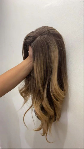 Peruca wig comum futura NOVA
