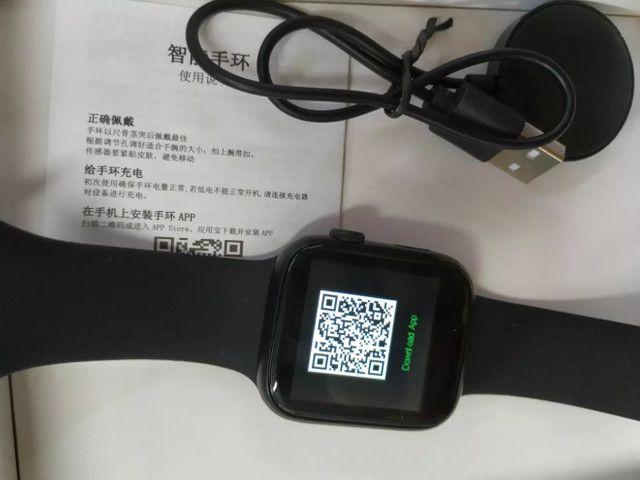 Relógio Smartwatch X7 Preto - Foto 3