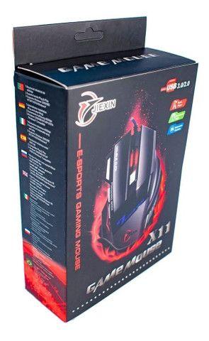 Mouse Gamer Jogos 6 Botões 4000 Dpi Botão Usb - Loja Natan Abreu - Foto 5