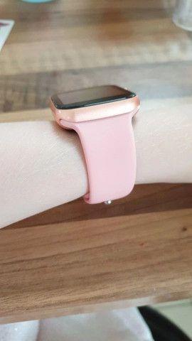 Relógio Smartwatch X7 Rose - Foto 4