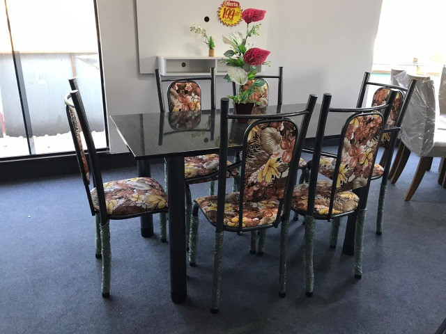 Mesa Isabela 6 Cadeiras 140x75 Florida - Foto 3