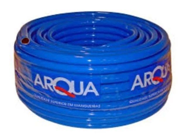 """Mangueira Recapada Azul 1"""" X 2,5MM 50M Arqua"""