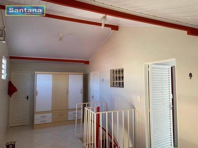 Chale de Laje com 4 dormitórios todos suites, à venda, 165 m² por R$ 250.000 - Mansões das - Foto 17