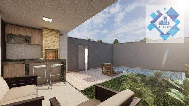 Casa com 3 dormitórios à venda, 98 m² por R$ 340.000 - Parnamirim - Eusébio/CE - Foto 15
