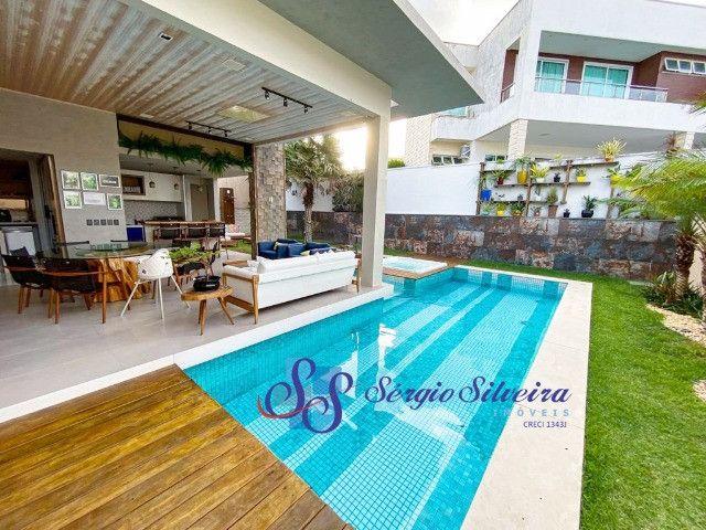 Casa no Alphaville Fortaleza mobiliada e climatizada, com piscina privativa, alto padrão