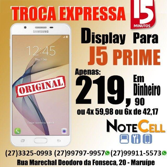 Tela / Display Para Samsung Tela J5 Prime (SM G570) - Instalação em 30 Minutinhos!