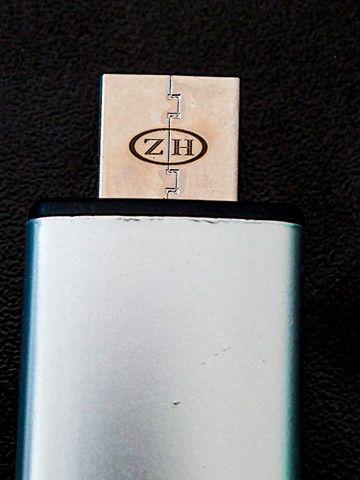 Isqueiro Elétrico Recarregável USB Evite Acidente Com Álcool  - Foto 2