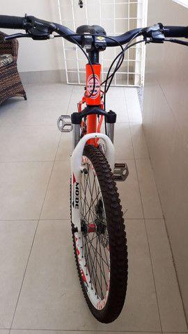 Vendo Bicicleta aro 26 quadro 18. Shimano - Foto 2