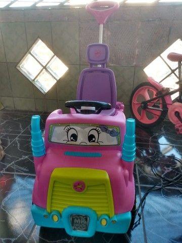 Carrinho e bicicleta infantil  - Foto 5