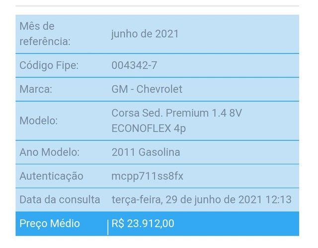 Corsa Sedan Premium 1.4 - 11/11 NÃO ACEITO OFERTA, leiam! - Foto 11