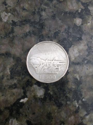 Moeda italiana de prata