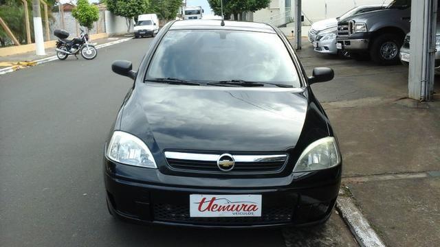 GM/ Corsa Hatch Maxx 1.0 - 2008/2008 - Preto - Flex