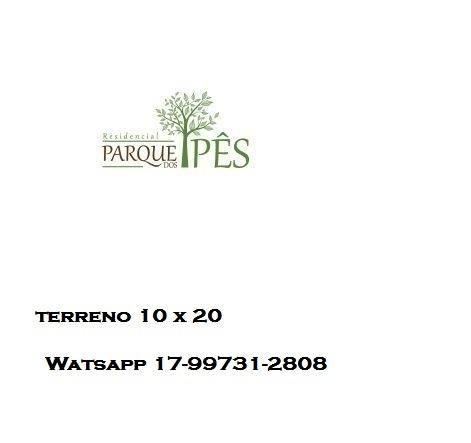 Residencial Parque dos Ipês 1 - Mirassol - aceito carro