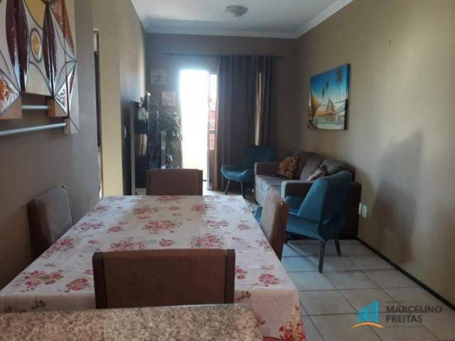 Apartamento 02 quartos sendo 01 suíte + wc. social, R$ 139mil. Mondubim, Fortaleza-Ce. - Foto 8