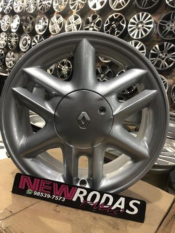 Rodas Renault Aro 15 Semi Novas