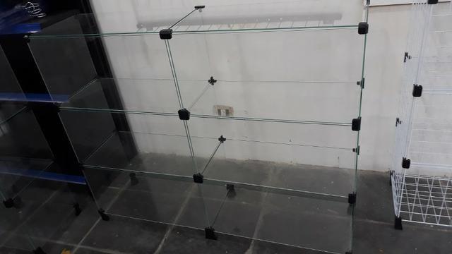 Balcão de vidro 1.20mt em 12x sem juros no cartão - Foto 3