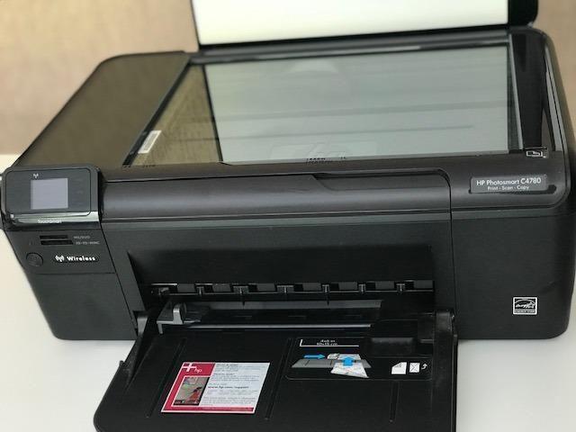 Impressora + copiadora + scanner HP Photosmart C4780