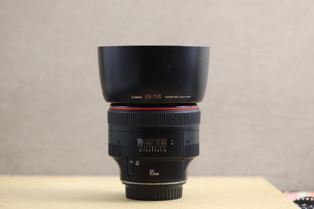 Lente canon 85mm 1.2 série 2 - Foto 5