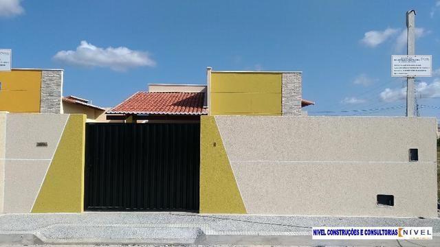 Linda casa no Flores do Campo II com 78m2. Documentação grátis. Apenas R$ 139.000,00 - Foto 3