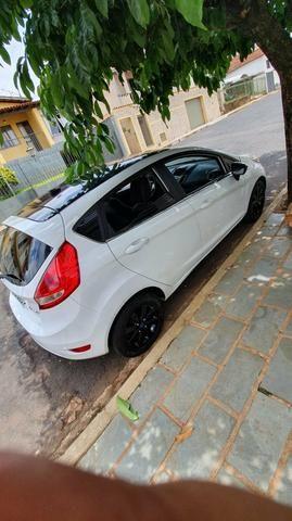 New Fiesta Branco 2013 1.6 Completo 2019 Pago - Foto 6