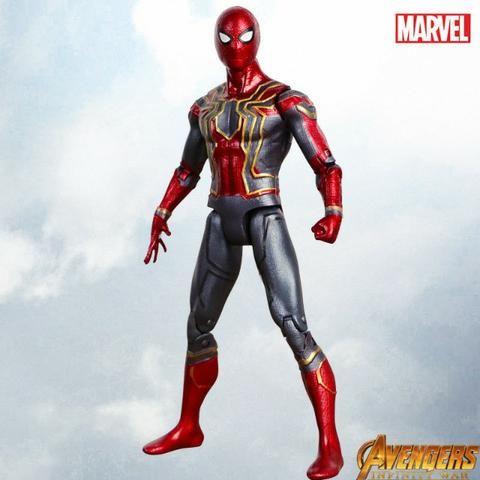 Boneco Homem Aranha 17cm Os Vingadores Marvel - Promoção!!! - Foto 2