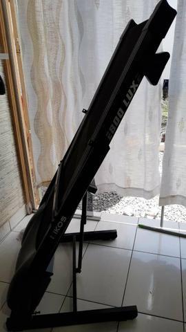 Esteira Kikos, Profissional E800 Luxe até 120 Kl Motor 2, 15 HPM (E800B) - Foto 2