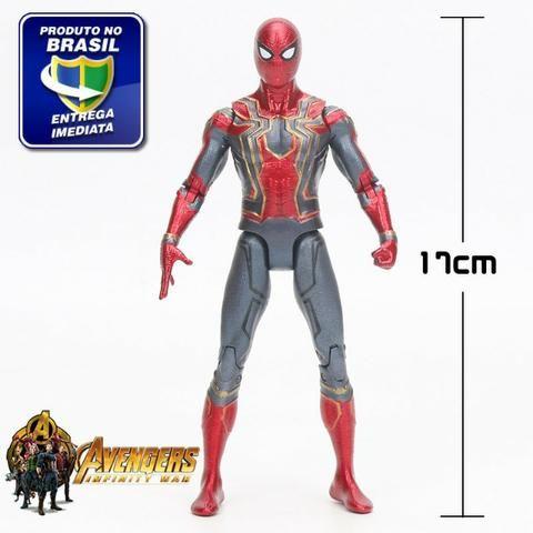 Boneco Homem Aranha 17cm Os Vingadores Marvel - Promoção!!!