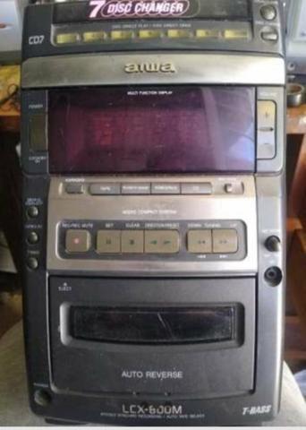 Micro system Aiwa lcx 800 para retirada de peças