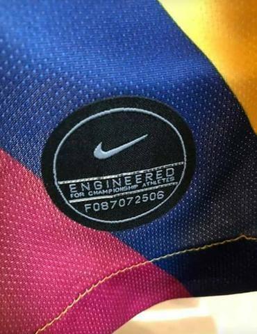 Camisa Barcelona tamanho M - Foto 5