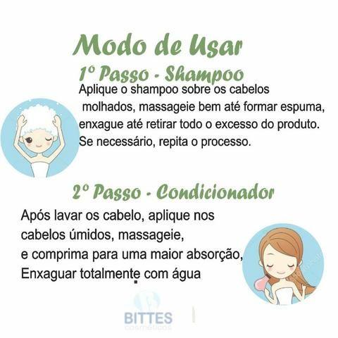 Hidratação Reconstrução Capilar Kit Natubelly Cauterização Umbu shampoo Condicionado - Foto 2