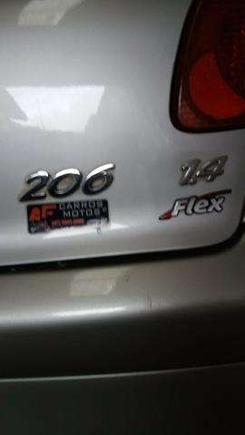 Peugeot 206 top de linha 1.4 8V 5p Ano 2007 repasse - Foto 5