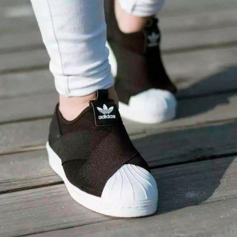 11a7fa8b410 Tênis Adidas Superstar Slip On Elástico - Roupas e calçados - Vila ...