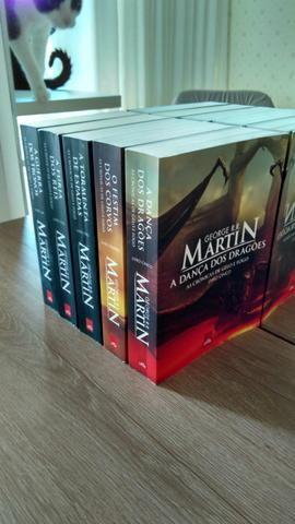 2364fe15e Coleção de livros do Game of Thrones - A guerra dos tronos - Livros ...