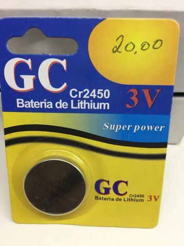 Bateria cr2450 gc a unidade