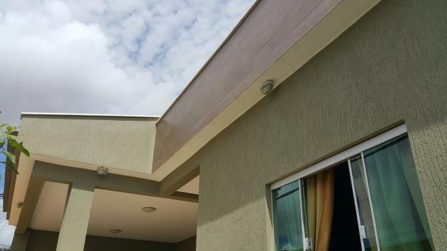 Casa 3quartos laje suite churrasqueira rua 6 Vicente Pires condomínio fechado lote 200m2 - Foto 2