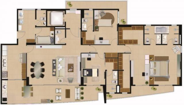 Apartamento residencial à venda com 04 suítes, aldeota, fortaleza. - Foto 16