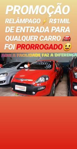 Fiat/PUNTO 1.4 2012 COM R$1MIL DE ENTRADA SÓ NA SHOWROOM