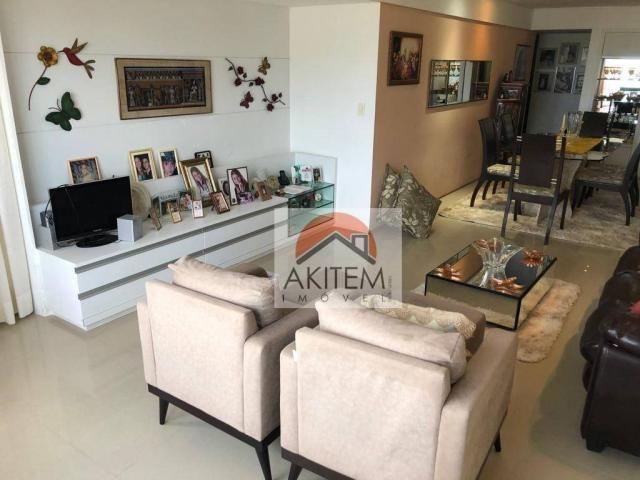 Apartamento na Beira Mar com 4 dormitórios à venda, 146 m² por R$ 620.000 - Casa Caiada -  - Foto 10