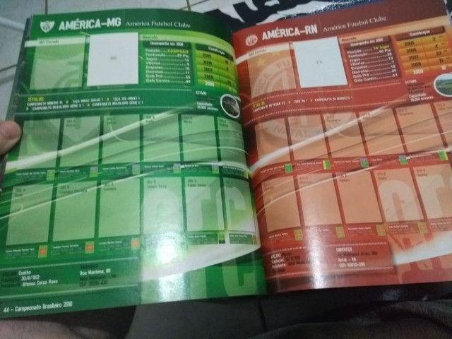 Álbum de Figurinhas ?Campeonato Brasileiro 2010?; Vazio - Foto 2