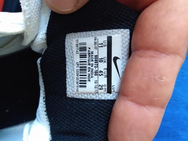 Tenis Nike flybylow tam-43 Original Branco e preto - Foto 4