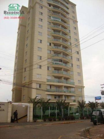 Apartamento com 3 dormitórios para alugar, 88 m² por R$ 1.500,00/mês - Jundiaí - Anápolis/