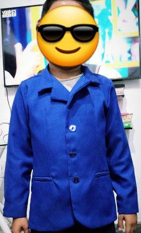 Terno completo e palitó para meninos de 7 a 8 anos - Foto 3