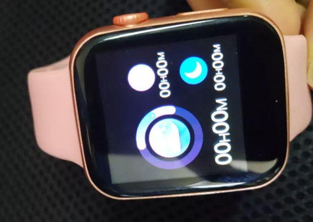 Relógio Smartwatch X7 Rose - Foto 5