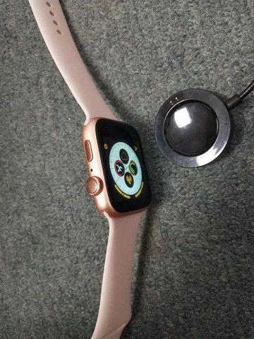 Relógio Smartwatch X7 Rose - Foto 6