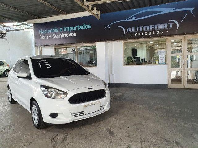 Ford Ka 1.0 Completo !!! Vistoriado 2021 !!! Todas as revisões feitas pela Autofort